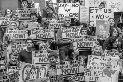 GMO Protest Courtesy Food & Water Watch