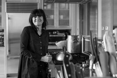 Ruth Reichl took up full-time residence at her weekend home in Spencertown after Gourmet magazine, where she'd been editor for a decade, abruptly closed in 2009. Now she forages locally. Richard Sands photo