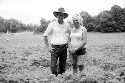 Don and Marnie MacLean have been running Thompson-Finch Farm, best known for its pick-your-own organic strawberries, since 1982.